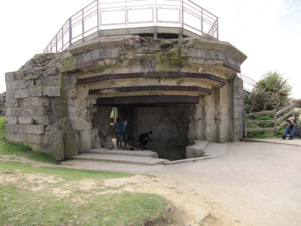 Blockhaus, Pointe du Hoc - © armées.com